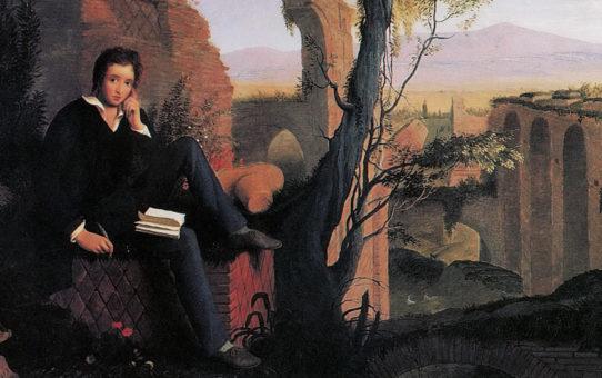 Byron and friends: Percy B. Shelley