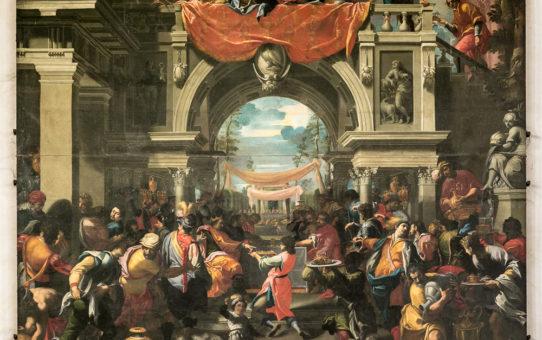 Il Convito di Assuero di Carlo Bononi