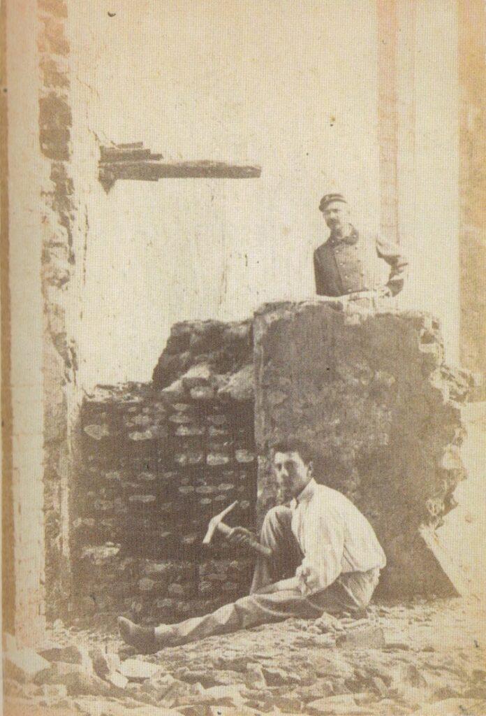 OrienteOccidente   Pio Feletti e il muro in cui furono rinvenute le ossa di Dante a Ravenna