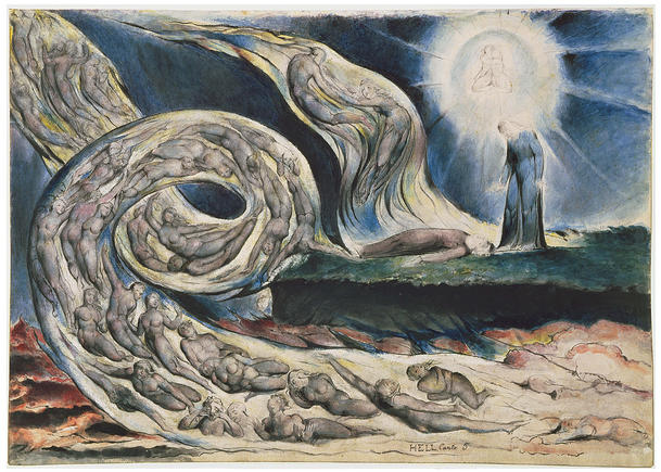 William Blake, Paolo e Francesca