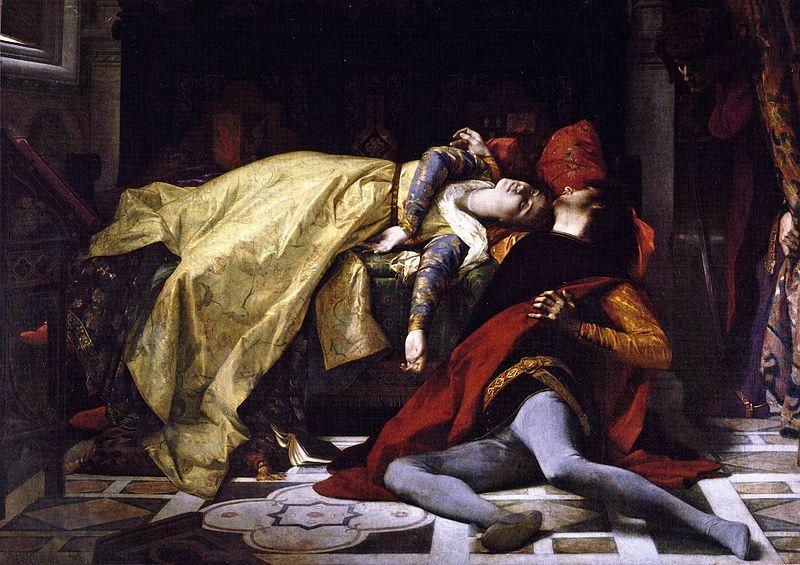 Alexandre Cabanel, Morte di Paolo e Francesca