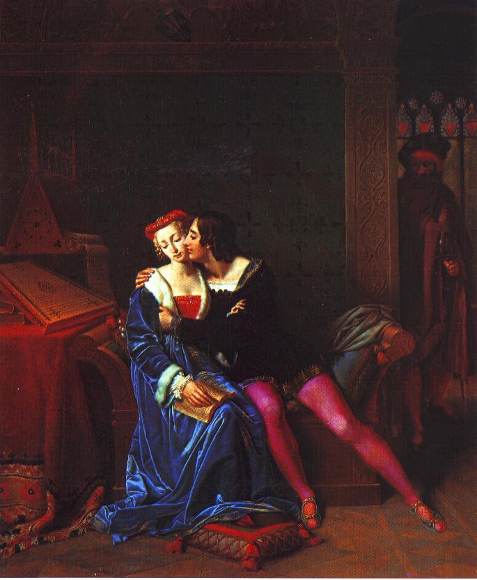 Marie-Philippe Coupin de la Couperie, Gli amori funesti di Paolo e Francesca