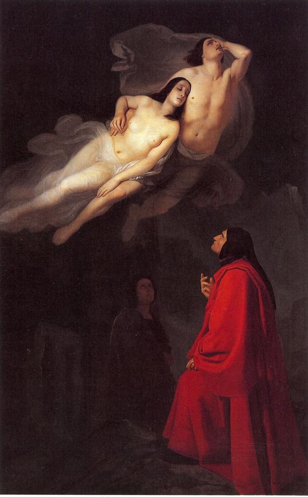 Giuseppe Frascheri, L'incontro di Dante con Paolo e Francesca