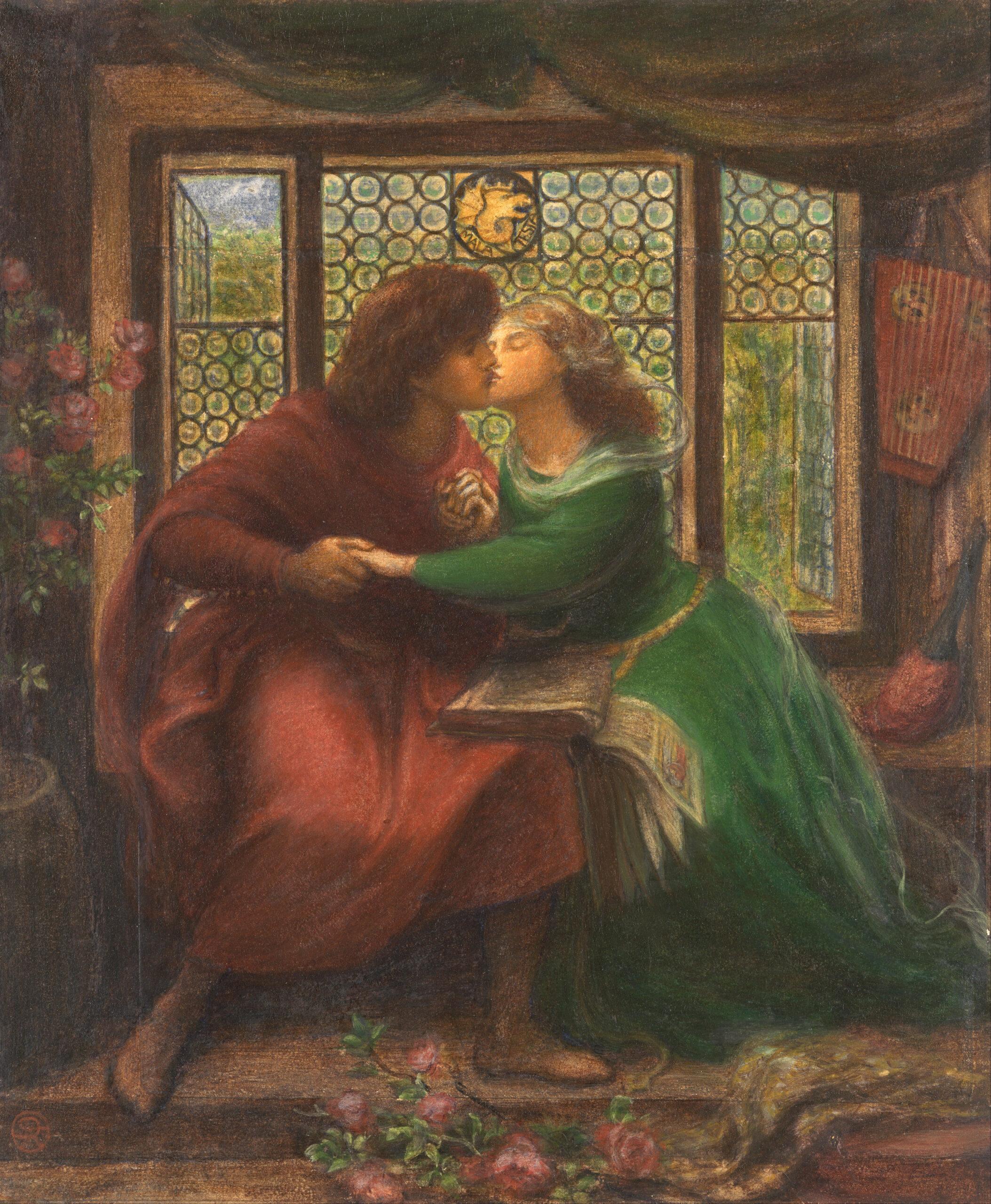 Dante Gabriel Rossetti, Il bacio di Paolo e Francesca