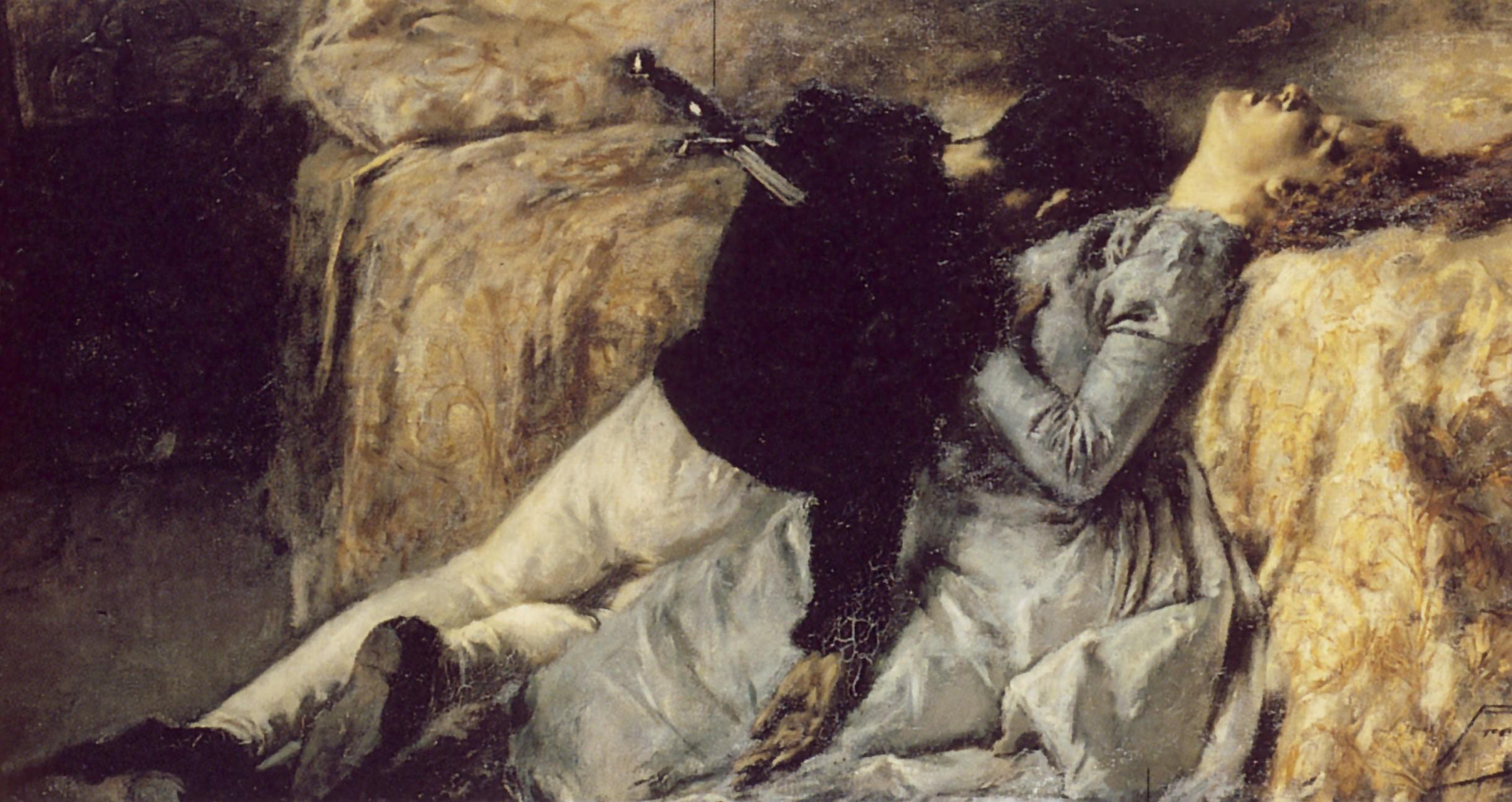 Gaetano Previati, Morte di Paolo e Francesca