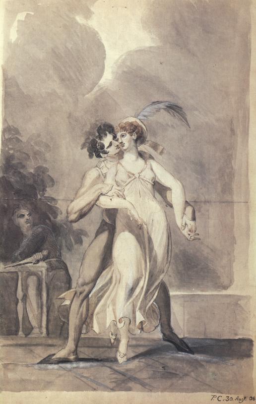 Johann Heinrich Füssli, Paolo e Francesca