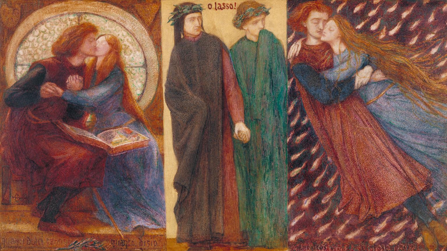Dante Gabriel Rossetti, Paolo e Francesca da Rimini