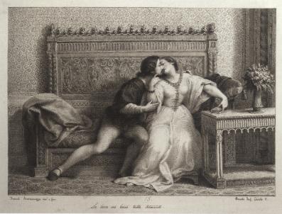 Francesco Scaramuzza, Il bacio di Paolo e Francesca.