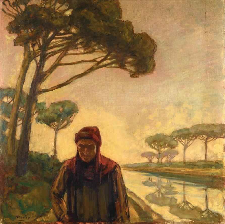 Dante e la Pineta