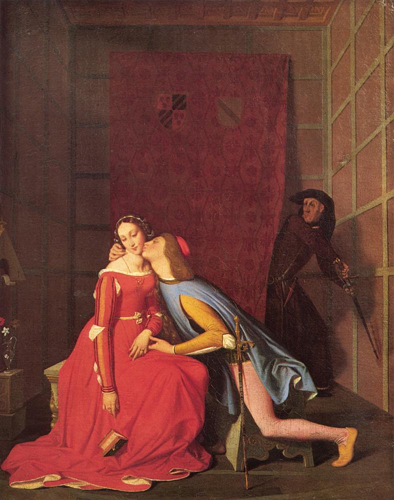Jean-Auguste-Dominique Ingres, Il bacio di Paolo e Francesca