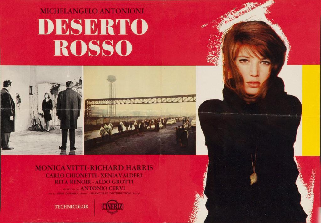 Ravenna nel cinema. Il film Deserto Rosso