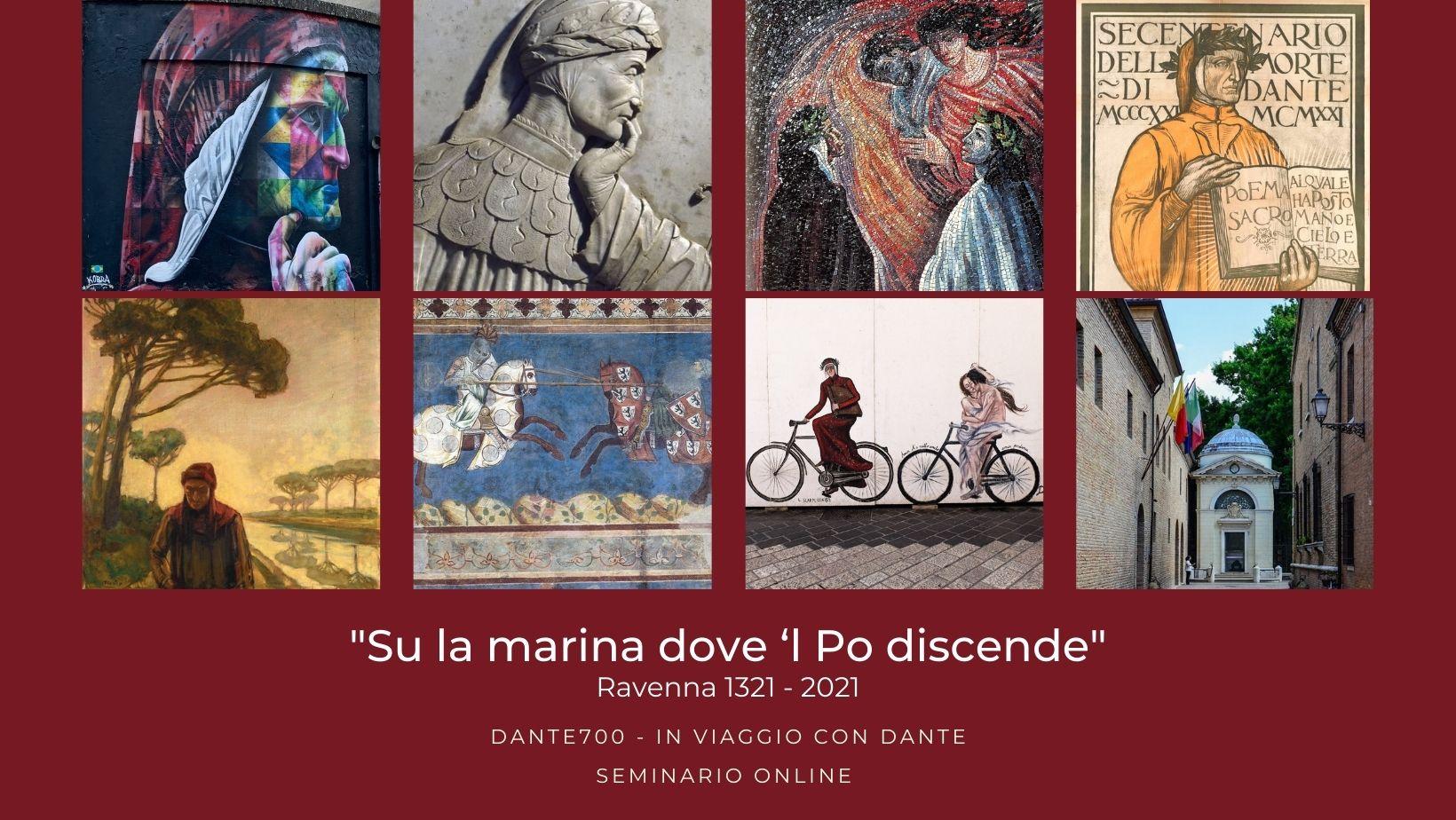 in viaggio con Dante seminario online