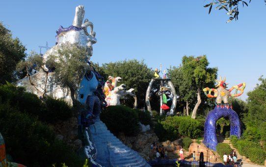 Il mosaico e Niki de Saint Phalle